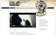 Webdesign Rise Up Productions: Startseite