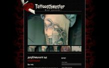 Webdesign Tattooschwester: Homepage