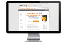 Redesign PHPKIT Produkt Website