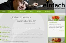 Webdesign & CMS Websiteerstellung: Tablet Startseite & Homepage