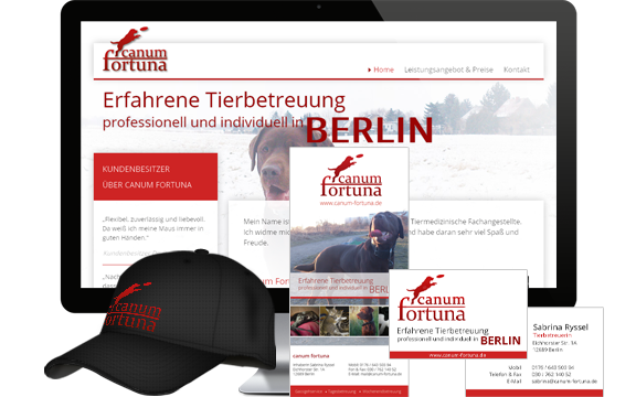 Corporate Design, Logodesign, Prospektgestaltung, Flyerdesign