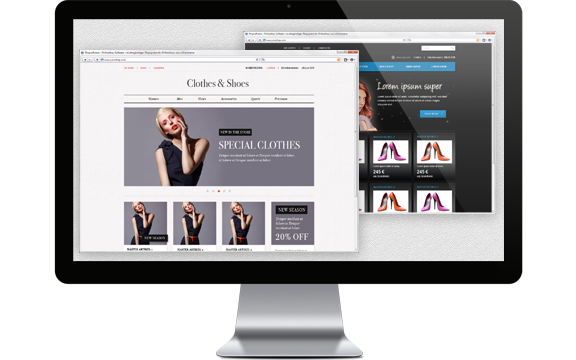 online shop web design Shopify is great for ecommerce website designers and non designers use one of our free or premium online store templates, or custom design your own theme.